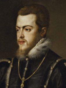 Felipe II por Tiziano