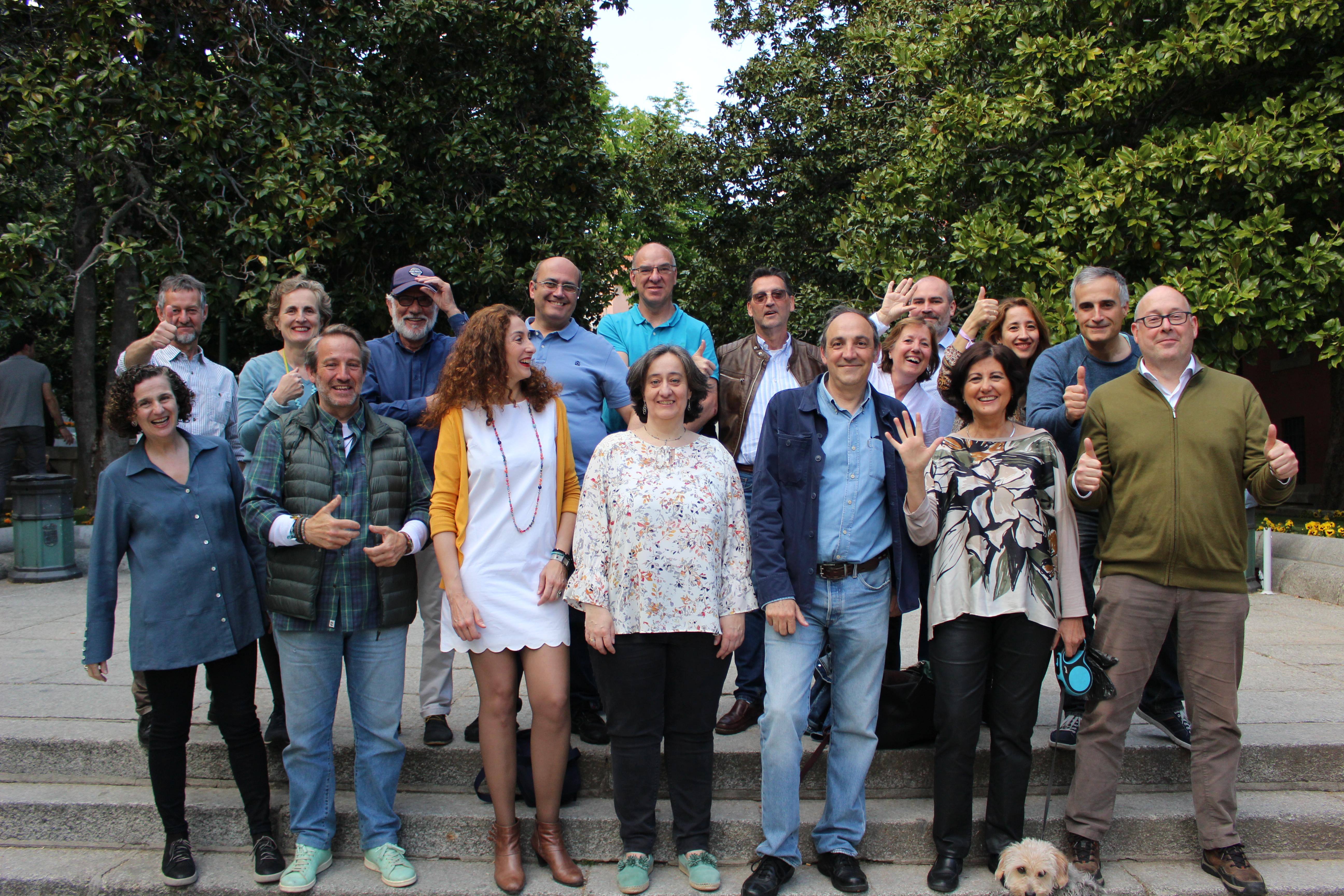 Foto de grupo de Vecinos por San Lorenzo de El Escorial
