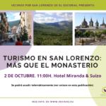 III Jornadas sostenibilidad - Turismo en San Lorenzo: Más que el Monasterio